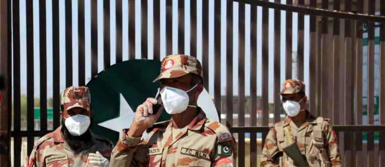 Corona Virus Effect - Pakistan Reopens Border With Iran After Two Months.jpg