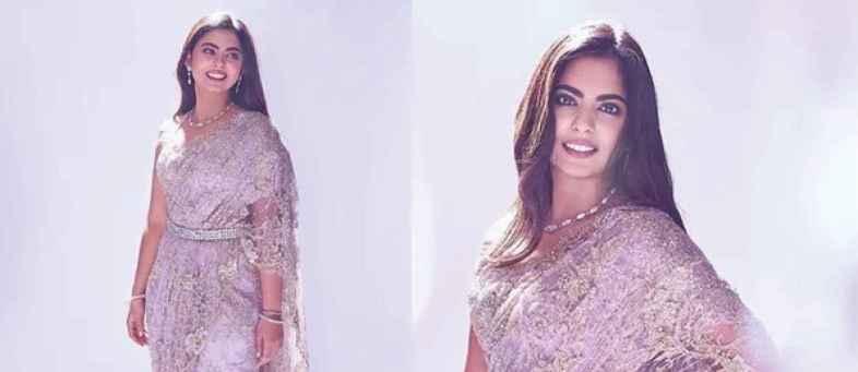 Isha Ambani's royal chic in designer saree.jpg