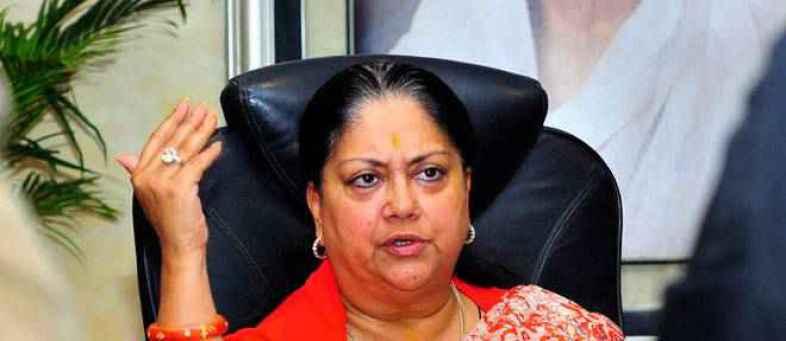 Vasundhara raje era may be end, Rajasthan''s new BJP chief takes charge.jpg