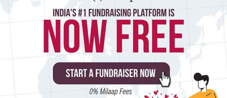 Crowdfunding Platform Milaap Extended to Waive 5% Platform Fee for Fundraiser.jpg