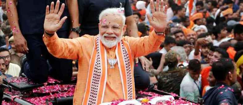 Modi gets clear majority for second term.jpeg