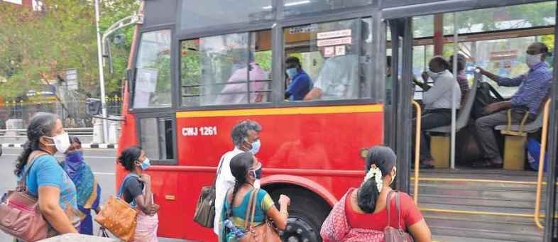 Know how many employees can come in point buses of the secretariat.jpg